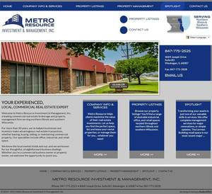 Metro Resource Website Screenshot